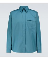 GR10K Hera Hors Long-sleeved Shirt - Blue