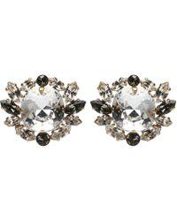 Dolce & Gabbana - Crystal Clip-on Earrings - Lyst