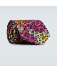 Gucci - Exclusive To Mytheresa - Printed Tie - Lyst