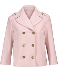 RED Valentino Wool-blend Jacket - Pink