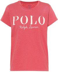 Polo Ralph Lauren - Cotton Logo T-shirt - Lyst
