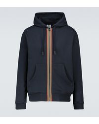 Burberry Lexington Zipped Sweatshirt - Blue