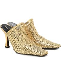 Proenza Schouler Chainmail Mules - Multicolor