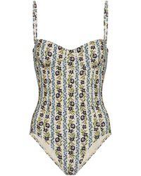 Tory Burch Floral Swimsuit - Multicolour