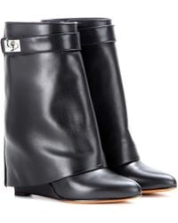 Givenchy - Tria Leather Boots - Lyst