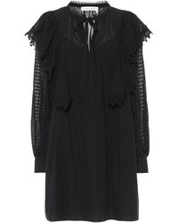 See By Chloé Cotton-voile Minidress - Black