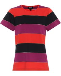A.P.C. Millbrook Striped Jersey T-shirt - Multicolour