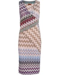 Missoni Zig-zag Knit Minidress - Multicolor