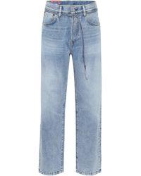 Acne Studios Blå Konst High-Rise Jeans 1991 Toj - Blau