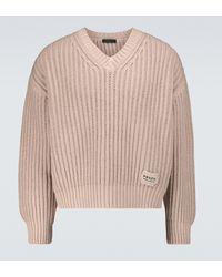 Prada Pullover aus Wolle und Kaschmir - Pink
