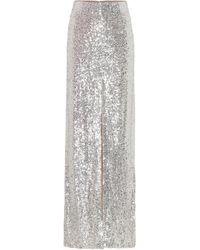 Galvan London Modern Love Sequin Skirt - Multicolour