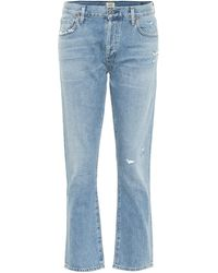 Citizens of Humanity Emerson Mid-rise Boyfriend Jeans - Blue