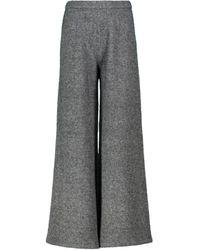 Proenza Schouler Pantalones en mezcla de lana - Gris