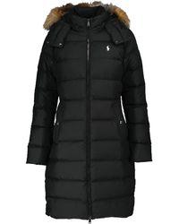 Polo Ralph Lauren Quilted Coat - Black