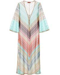 Missoni Striped Knit Kaftan - Multicolor