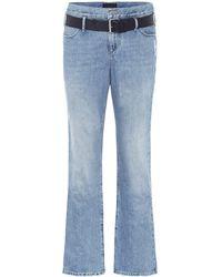 RTA High-Rise Boyfriend Jeans Dexter - Blau