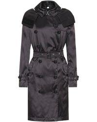 Burberry Detachable Hood Econyl® Trench Coat - Black