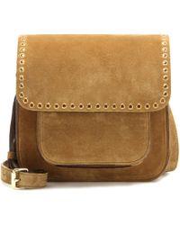 Étoile Isabel Marant | Mela Embellished Suede Crossbody Bag | Lyst