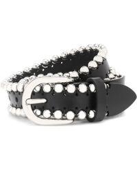 Isabel Marant - Embellished Leather Belt - Lyst