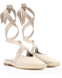 JW Anderson Canvas Lace-up Sandals - Multicolor