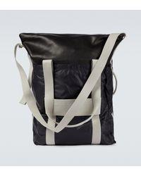 Rick Owens Trolley Leather Trunk Bag - Black