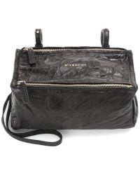 Givenchy Borsa a tracolla Pandora Mini in pelle - Nero