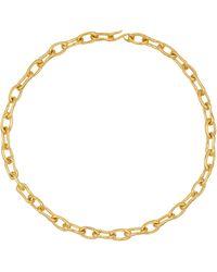 Sophie Buhai Collar Roman Chain de oro vermeil de 18 ct - Metálico