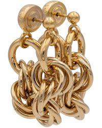 JW Anderson Chain Earrings - Metallic