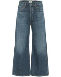 Citizens of Humanity High-Rise Jeans Sacha - Blau
