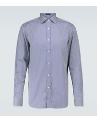 Ralph Lauren Purple Label - Gestreiftes Regular-Fit-Hemd - Lyst