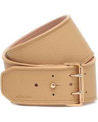 Agnona Leather Belt - Multicolor
