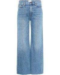 Simon Miller Cropped Jeans Kasson - Blau