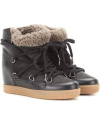Isabel Marant Toile Nowles Ankle Boots - Black