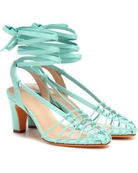 Maryam Nassir Zadeh - Maribel Leather Sandals - Lyst