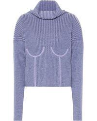 Mugler - Pullover aus einem Wollgemisch - Lyst