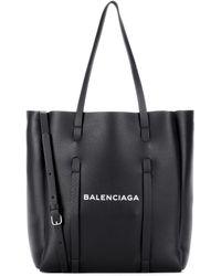 Balenciaga Tote Everyday XS aus Leder - Schwarz