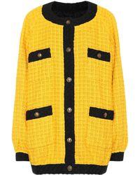 Gucci - Oversized Tweed Cardigan - Lyst
