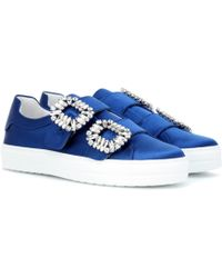 Roger Vivier - Sneaky Viv' Double Buckle Trainers - Lyst