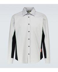 GR10K Klopman Line Long-sleeved Shirt - Grey