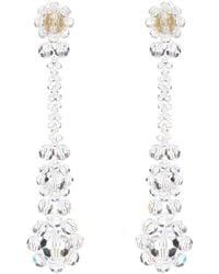 Simone Rocha - Crystal-embellished Earrings - Lyst