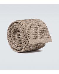 Tom Ford Cravate en soie - Neutre