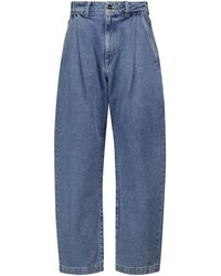 Goldsign Jean ample fuseau The Dali - Bleu
