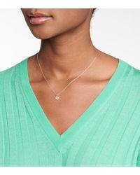 Sophie Bille Brahe Halskette Petite Paloma aus 18kt Gelbgold mit Diamanten - Mettallic