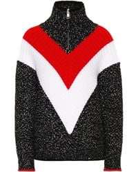 Givenchy - Zip Up Sweater - Lyst