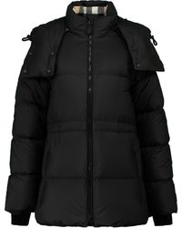Burberry Quilted Puffer Jacket - Black