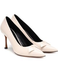 The Row Champagne Bow Court Shoes - Multicolour