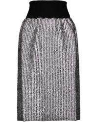 Moncler Genius Jupe 2 MONCLER 1952 en laine - Noir