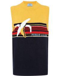 Prada - Pullover in lana jacquard - Lyst