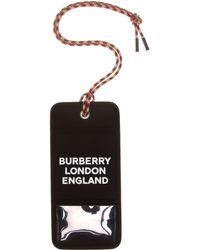 Burberry Logo Canvas Card Holder - Black