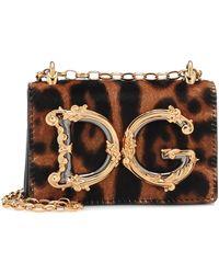 Dolce & Gabbana Dg Amore Mini Crossbody Bag - Black